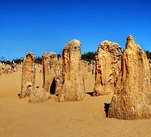 The Pinnacles by Christine Smith