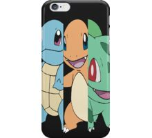 Pick Your Starter Pokemon iPhone Case/Skin