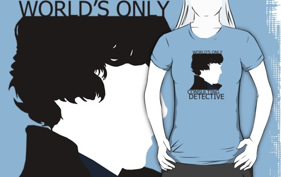 World's Only Consulting Detective (outside edition) by drawingdream