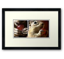 Rusty's Grape Framed Print