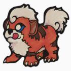 Growlithe by TinySkye