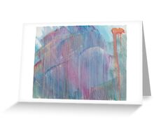 Macabre Dream - Oil Painting Greeting Card