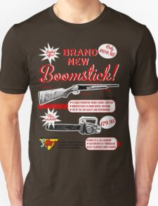 The brand new Boomstick Unisex T-Shirt