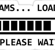 Dreams ... loading Sticker