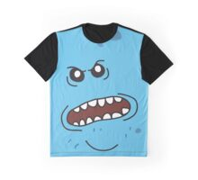 Angry Mr. Meeseeks Graphic T-Shirt