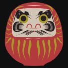 Japanese Daruma T-Shirt by AsianT-Shirts