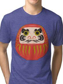 Japanese Daruma T-Shirt Tri-blend T-Shirt