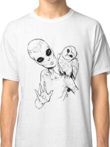 Alien Greeting Classic T-Shirt