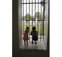 Let us out! Photographic Print