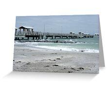 DeSota Pier Greeting Card