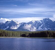 Kananaskis Mountains Lake by Jim Sauchyn
