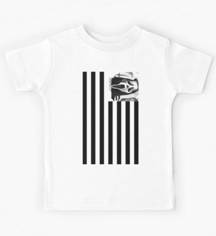 EyE AM YoMonster vertical Flag Kids Tee