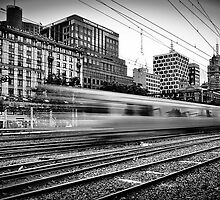 The 14:37 Rush - Melbourne Style by Paul Louis Villani