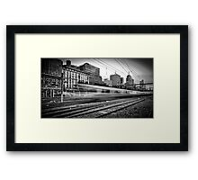 The 14:37 Rush - Melbourne Style Framed Print