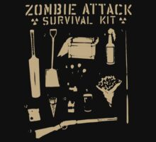 Zombie Attack Survival Kit by teelove