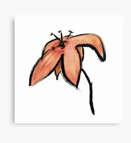 bloom ~ haiga XIV Canvas Print