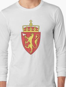 Coat of Arms of Norway  Long Sleeve T-Shirt