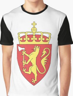 Coat of Arms of Norway  Graphic T-Shirt