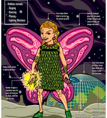 A Spotter's Guide to Moon Fairies Sticker