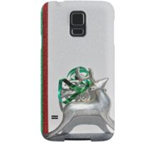 Christmas:  Holiday Stripes and a Reindeer II Samsung Galaxy Case/Skin