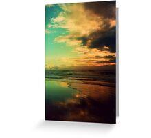 sunrise sunshine coast Greeting Card