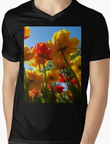 Tulips 8 Mens V-Neck T-Shirt