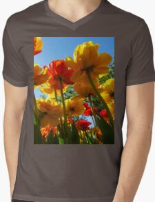 Tulips 8 Mens V-Neck T-Shirt