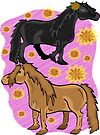 Trinity's Ponies by Diana-Lee Saville