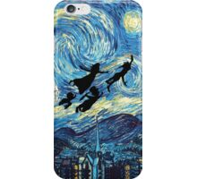 The Starry Night Peter Pan iPhone Case/Skin