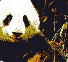 the magnificent panda Sticker
