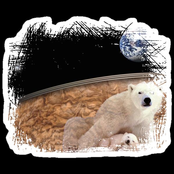 polar bears earth by arteology