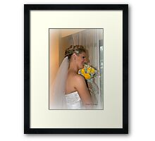 Beautiful Bride Framed Print