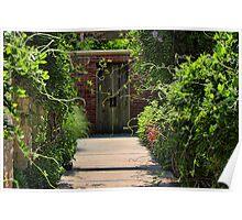 Gardens Path Poster
