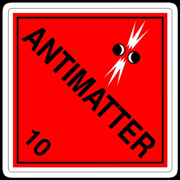 Antimatter: Hazardous! by glyphobet