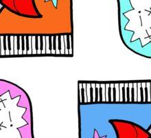 piano time Sticker