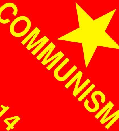 Communism: Hazardous! Sticker