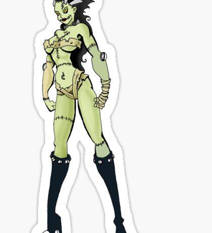 Bride of Frankenstein Sticker Sticker