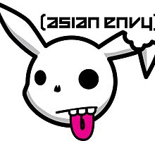 Pika Skull - Asian Envy by Steve Edwards