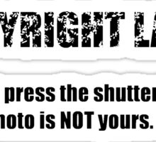 COPYRIGHT 101 #1 -  Sticker