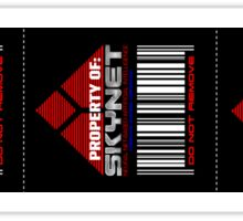 Property of Skynet Stickers (3 Total) Sticker