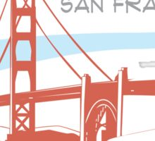 San Francisco -  Golden Gate Bridge Sticker