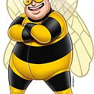 Superheroes - Bee-Boy by GerbArt