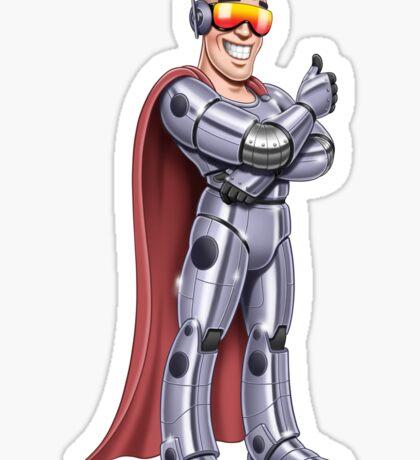 Superheroes - Iron Mohawk Sticker