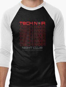 TECH NOIR Men's Baseball ¾ T-Shirt