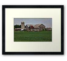 An Ontario Farm Framed Print