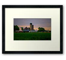 Morning on an Ontario Farm Framed Print
