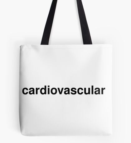 cardiovascular Tote Bag