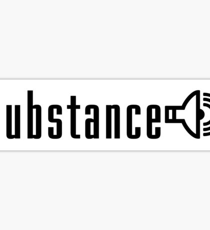 Substance Horizontal Sticker Sticker