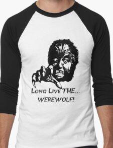 Long Live The Werewolf! Men's Baseball ¾ T-Shirt