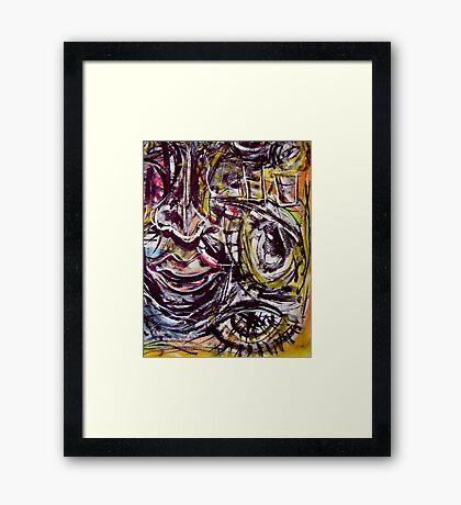 long night.... vivid dream  Framed Print